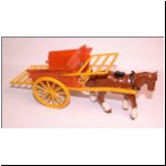 Charbens No.4 Horse Drawn Tipping Wagon (missing tailboard and man)