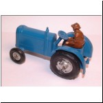 Charbens No.6 Tractor - rare blue version with rubber wheels