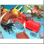 "Charbens ""Panorama"" Farm Set with plastic vehicles"